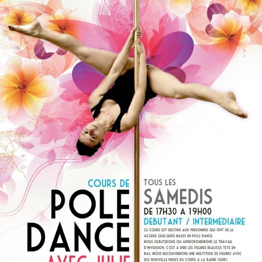 Pole dance : Julie Paris Pole