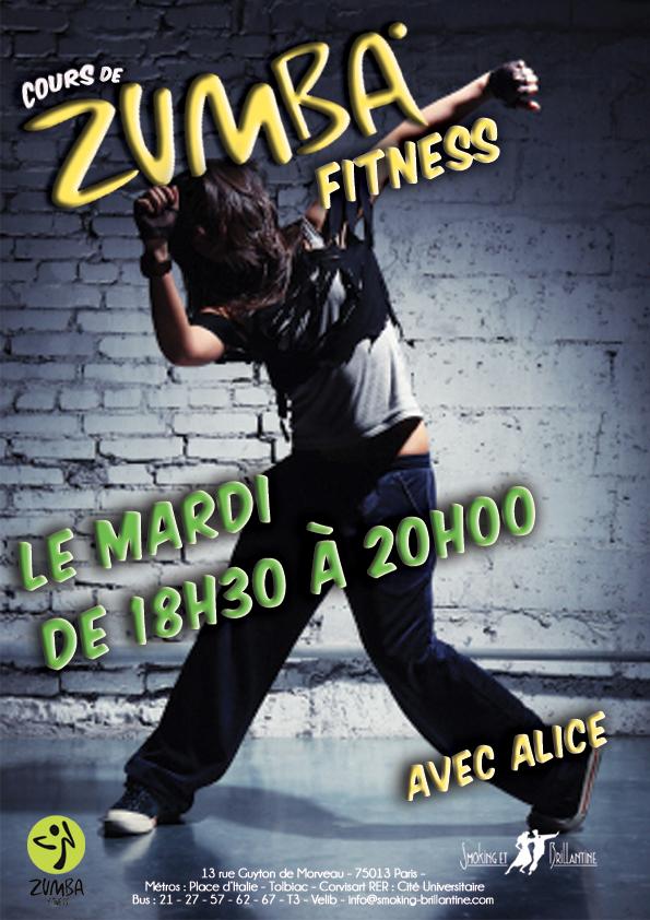 Zumba Fitness : Alice S.