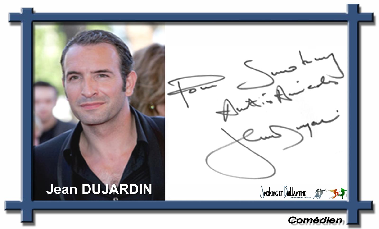Jean dujardin smoking et brillantine for Contacter jean dujardin