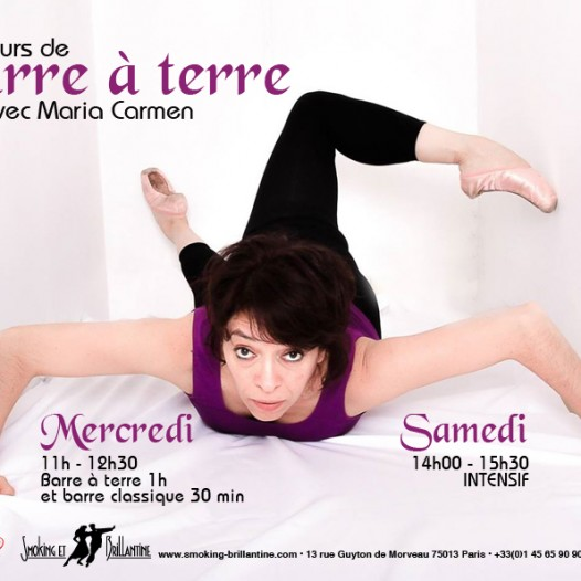 Barre à terre / Classique : Maria Carmen